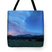 First Stars Showing Tote Bag