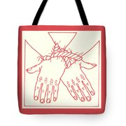 First Station- Jesus Is Condemned To Death  Tote Bag