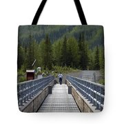 First Steps Down New Roads Tote Bag