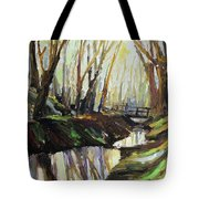 First Sun Of Spring Tote Bag