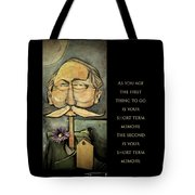 First Thing To Go - Poster Tote Bag