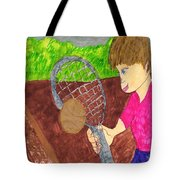 First Time For Tennis Tote Bag