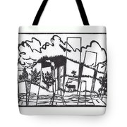First Time In A City 1 Tote Bag