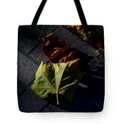 First To Fall Tote Bag
