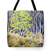 First Touch Of Spring Tote Bag