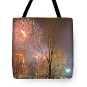 Firstnight Fireworks Tote Bag