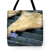 Fish And Flowers Tote Bag