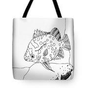 Fish And Rock Tote Bag