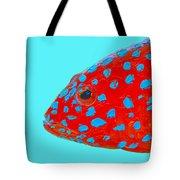 Fish Art - Strawberry Grouper Tote Bag