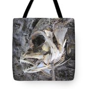 Fish Bones Tote Bag
