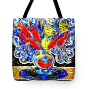 Fish Bouquet Tote Bag