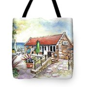 Fish Box In Robin Hoods Bay  Tote Bag