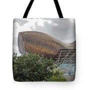 Fish By Frank Owen Gehry - Olympic Village - Barcelona Spain Tote Bag
