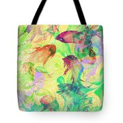 Fish Dreams Tote Bag by Rachel Christine Nowicki
