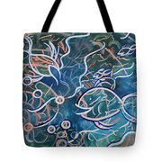 Fish Family Tote Bag