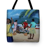 Fish For Supper Tote Bag