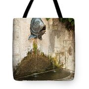 Fish Fountain Tote Bag
