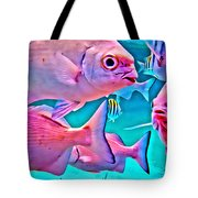 Fish Frenzy Tote Bag