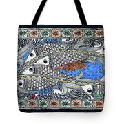 Fish Group Tote Bag