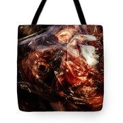 Fish Heads 02 Tote Bag by Grebo Gray