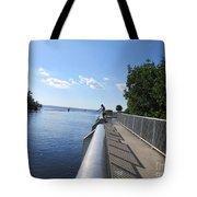 Fish Here Tote Bag