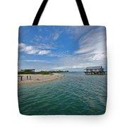 Fish Hut 2 Tote Bag
