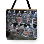 Fish In A Bag Tote Bag