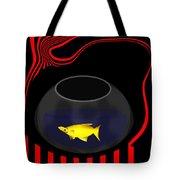 Fish In A Bowl Tote Bag