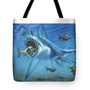 Fish In Action Tote Bag