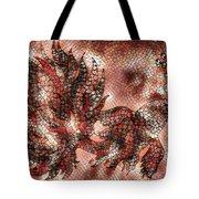Fish In Cinnamon Mosaic 1 Tote Bag