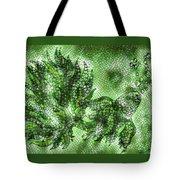 Fish In Green Mosaic 2 Tote Bag