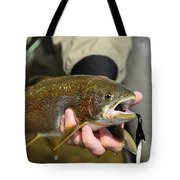 Fish In Hand Tote Bag