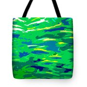 Fish In The Sea Tote Bag