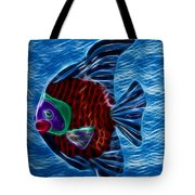 Fish In Water Tote Bag