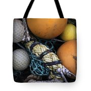 Fish Netting And Floats 0129 Tote Bag