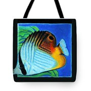 Fish Number Four Tote Bag