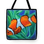 Fish Number Three Tote Bag