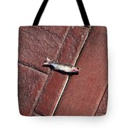 Fish On The Bricks Tote Bag