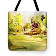 Fish Pond At Nutimik Lake Manitoba Tote Bag