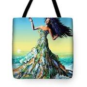Fish Queen Tote Bag