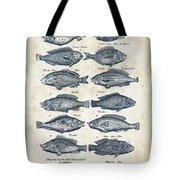 Fish Species Historiae Naturalis 08 - 1657 - 13 Tote Bag
