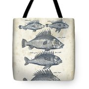 Fish Species Historiae Naturalis 08 - 1657 - 16 Tote Bag