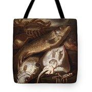 Fish Still Life Tote Bag