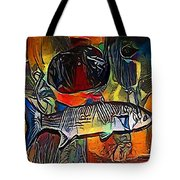 fish - My WWW vikinek-art.com Tote Bag