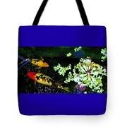Fish Water Flowers 3 Tote Bag
