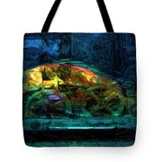 Fish Wheels Tote Bag