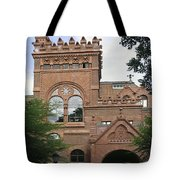Fisher Fine Arts Library Historical Place Tote Bag