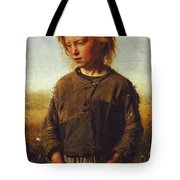 Fisher Girl Tote Bag
