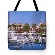 Fisher Island Miami Private Marina Tote Bag