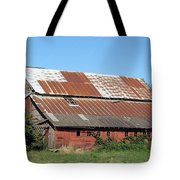 Fisher Road Barn 2 Photograph Tote Bag